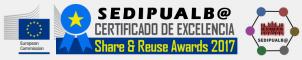 Certificado de excelencia otorgado por la Comisión Europea en los premios Share & Reuse Awards 2017